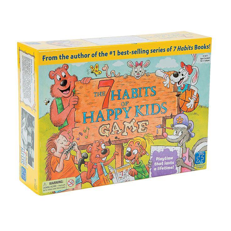 The 7 Habits Of Happy Kids Game - OrientalTrading.com