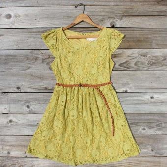 September Haze Dress, Sweet Women's Bohemian Clothing