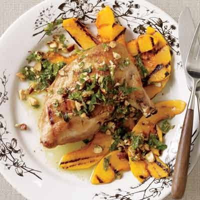 almond apricot chicken with mint pesto recept yummly almond apricot ...