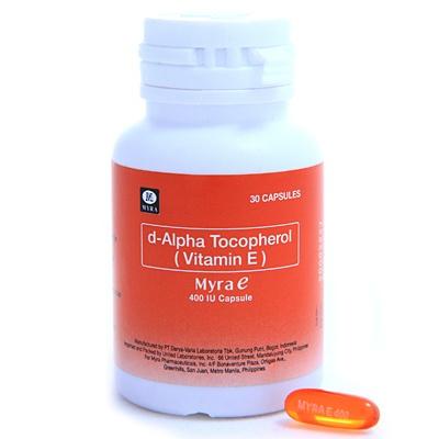 UNILAB :: Myra E 400 IU Softgel Capsule | Products I L♥ve ...