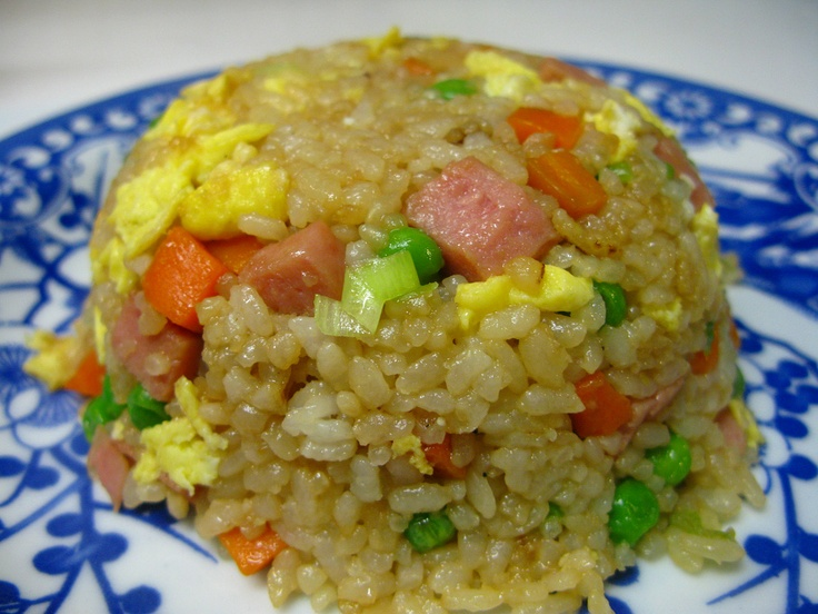Spam-Fried Rice | Food & Drinks | Pinterest