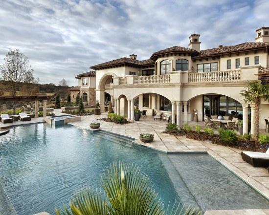 Mediterranean Exterior Design Dream Homes Pinterest