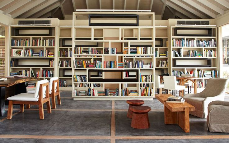 Pin by elizabeth ramirez on books pinterest Modern home library design ideas