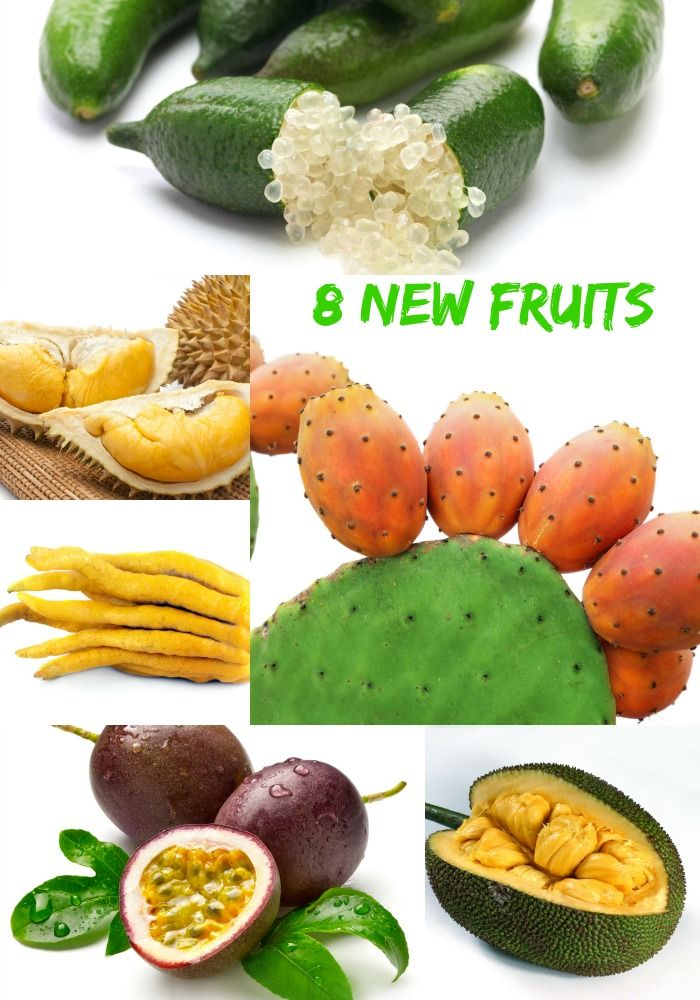 8 New Fruits for the New Year