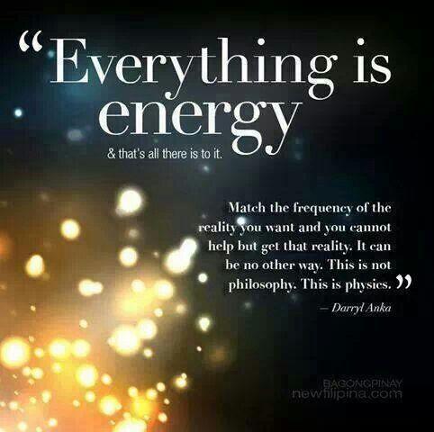 physics energy positive vibrations inspirational