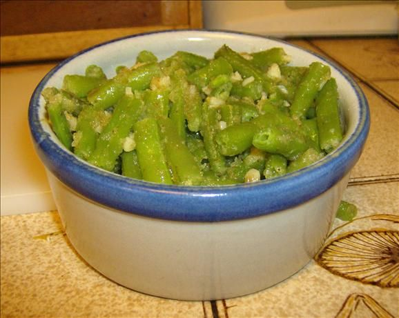 Garlicky Green Beans | Recipe