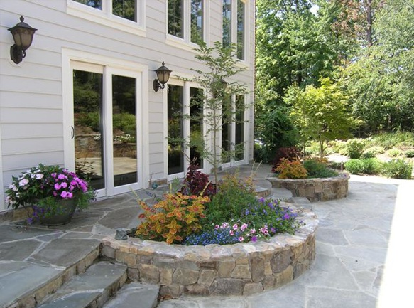 Stone Flower Bed : Stone flower beds  My Green Thumb . . .  Pinterest
