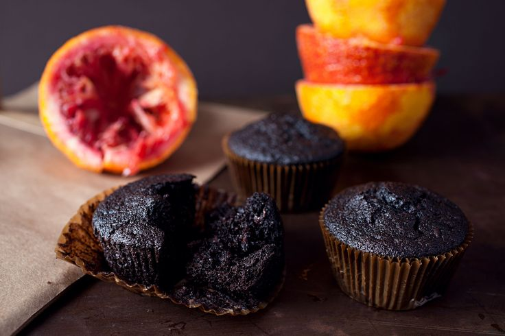 blood orange chocolate muffins | cakes & desserts | Pinterest
