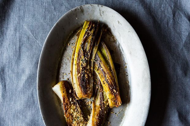 Buttery Braised Leeks with a Crispy Panko Topping - making tonight ...