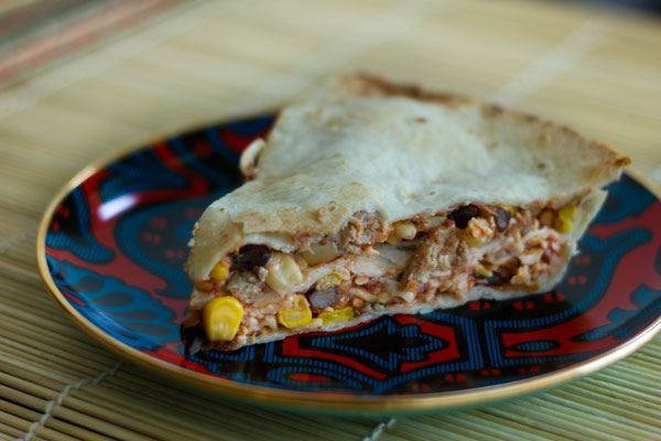 Tortilla Pie   Recipes I Want to Try   Pinterest