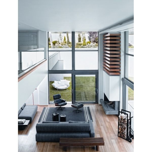 Double Height Ceiling In The Living Room For The Home Pinterest