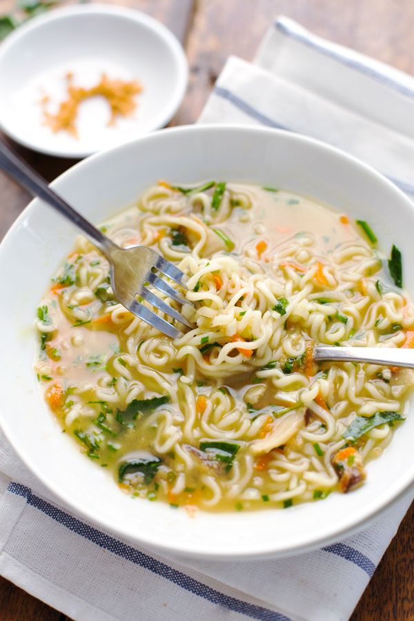 recipe quick ramen vegetables,  and comes fresh Homemade life Ramen herbs, with Quick to