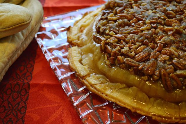 Apple Pecan Pie Upside Down Recipe — Dishmaps