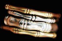 Beyond Metalsmithing Basics: Turn Plain Band Rings into Bamboo Stack