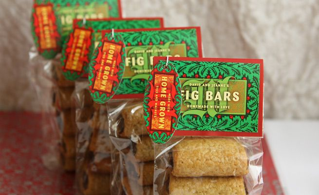 Fig bars - Love the tags and packaging