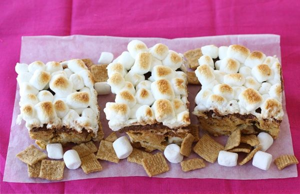 Golden Grahams S'mores Bars | Recipe