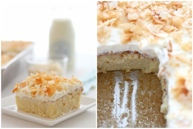 Tres Leches Coconut Cake | Cake! | Pinterest