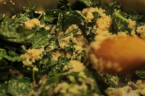 One Pot Kale and Quinoa Pilaf | Recipe