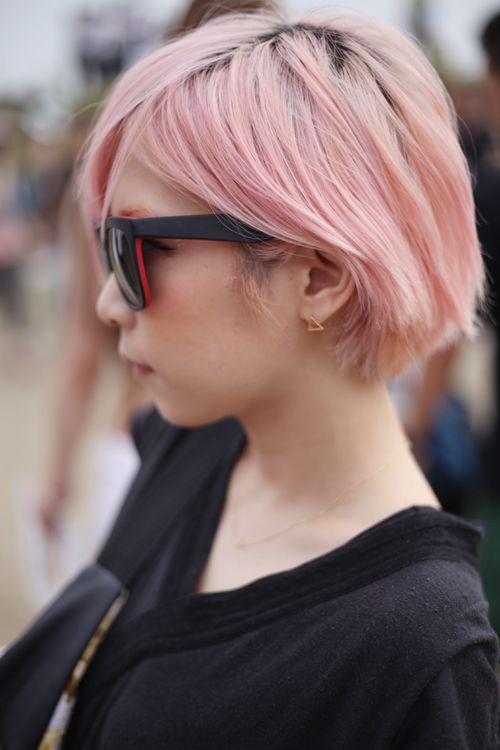 short & pink