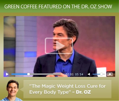 Green Coffee Bean Extract - DR OZ