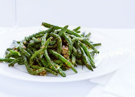 ... Gourmet Traveller recipe for Sichuan-style green beans with pork mince