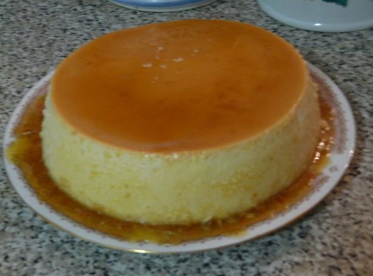 flan orange flan baked flan spanish flan flan with lavender coconut ...