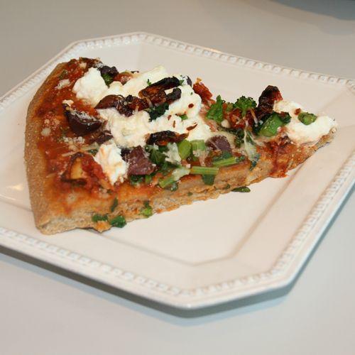 Ricotta & Rapini Pizza ..... Blanching the rapini before ...
