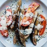 Ginger-Miso-Glazed Eggplant - Bon Appétit Get in my belly