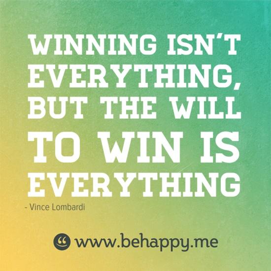 Winning Isn't Everything: Sometimes It's Good To Lose