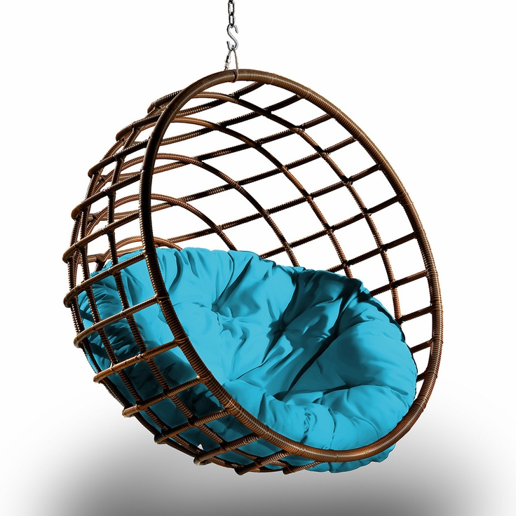 Sphere Chair Chocolate Glacier