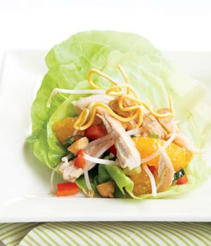Cashew Chicken Lettuce Wraps | CulinaryDelights | Pinterest