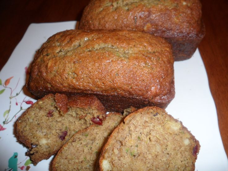 Pineapple Cranberry Zucchini Bread | Bread And Rolls and Bisquits ...