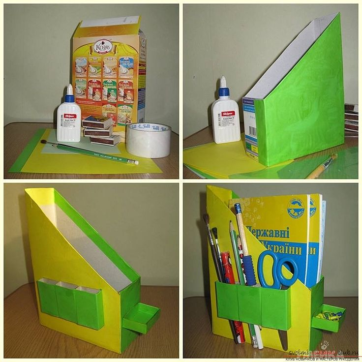 Поделки из коробок интересные идеи для детского творчества