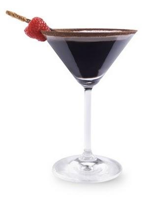 Chocolate Raspberry Martini | Mar TUNI time | Pinterest