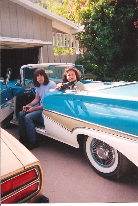 Johnny Ramone and Eddie Vedder