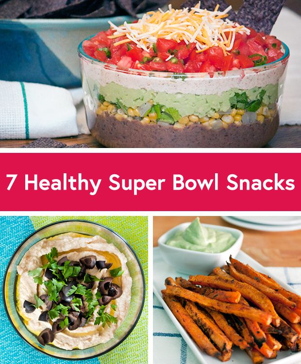 7 healthier super bowl appetizers for Super bowl appetizers pinterest