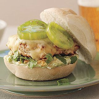 Salsa Verde Turkey Burger | Recipe