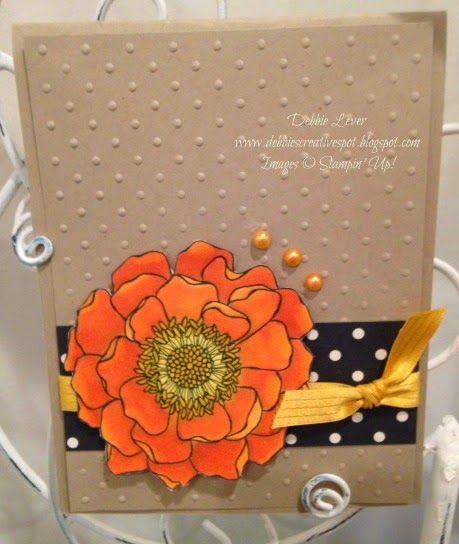 Debbie's Creative Spot: Blended Bloom