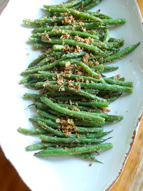 Sauteed green beans | Veggies and pasta | Pinterest