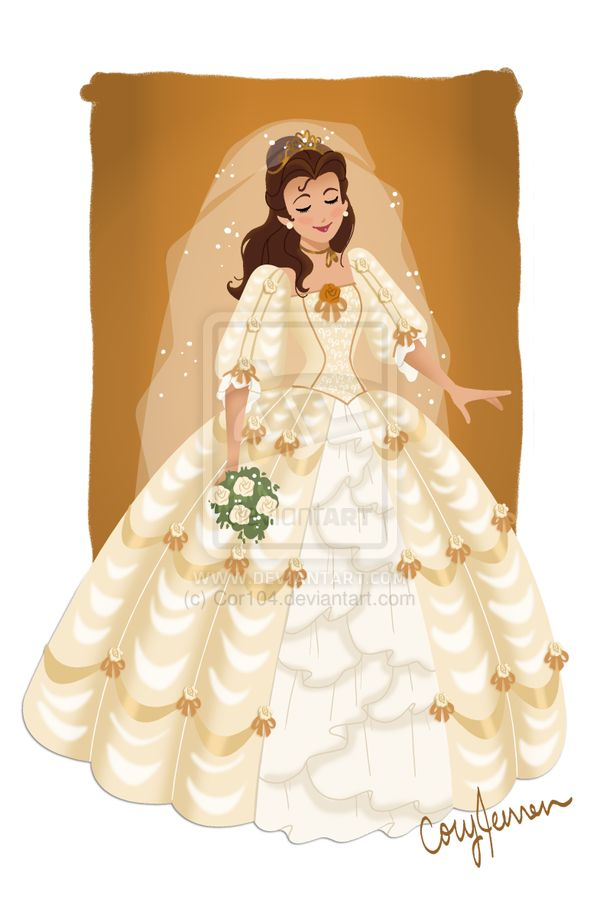 Belle wedding gown beauty and the beast pinterest for Wedding dress like belle from beauty and the beast
