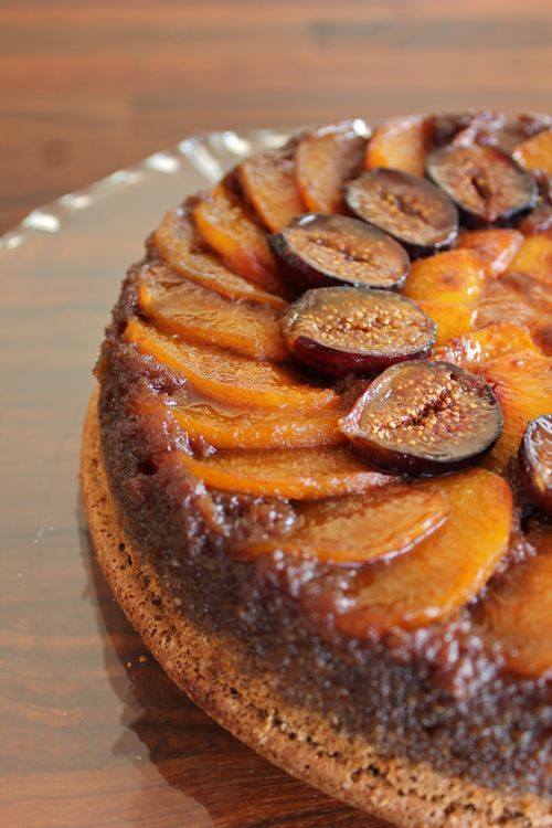 Spiced Honey Cake With Caramelized Figs Recipe — Dishmaps