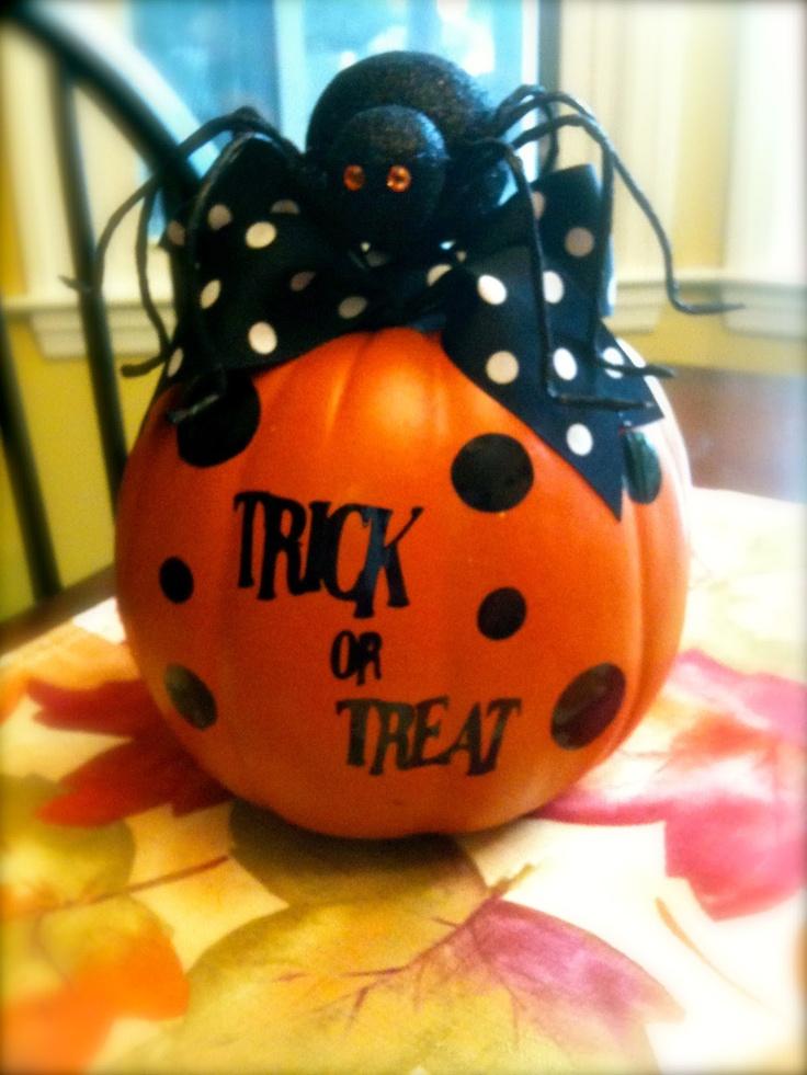 Trick or Treat Pumpkin Greetings