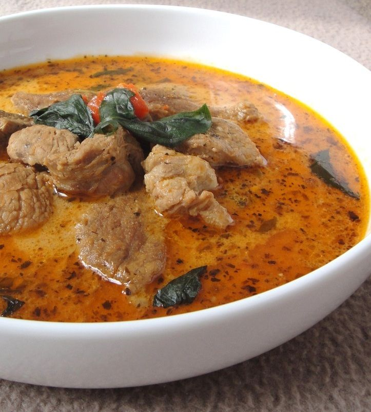 Thai Red Duck Curry Recipe This was pretty good. We used chicken ...