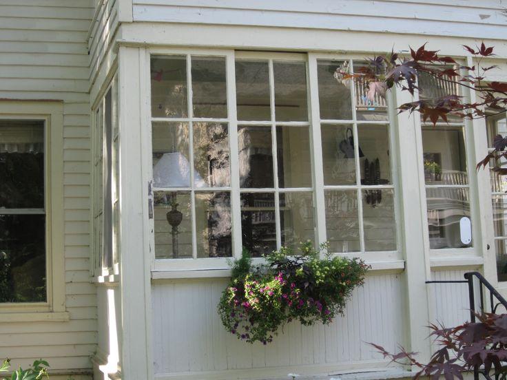 Glass Enclosed Back Porch Exterior Pinterest