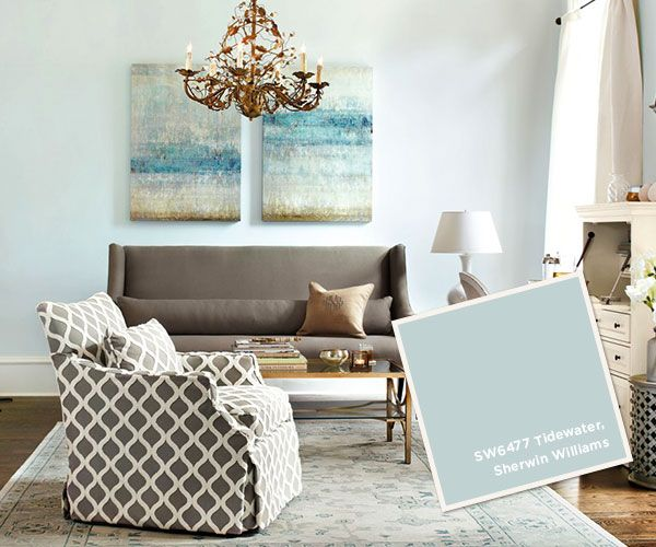 Sherwin Williams Tidewater  I  via howtodecorate.com