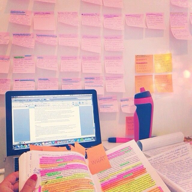 how to get organized for school studying