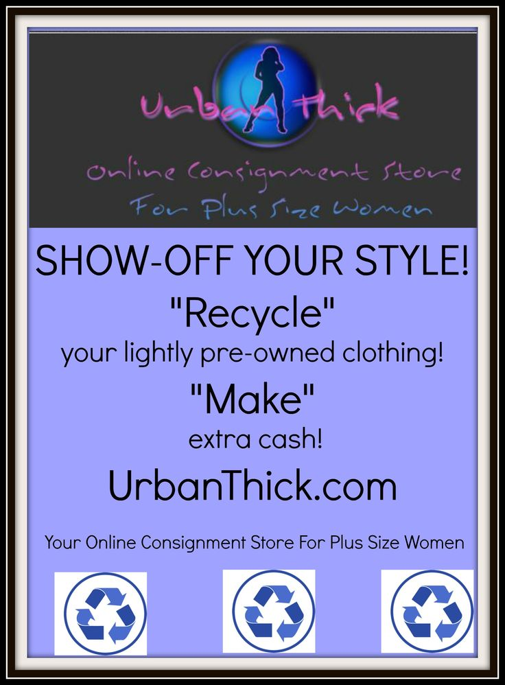 Share Your Style, Fashion, and Recycle! Urban Thick, Your Online