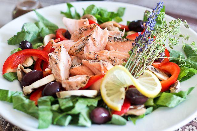 Quick Leftover Salmon Salad | Recipe