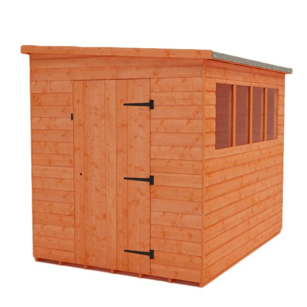 Tiger sheds - Shiplap Lean To Pent Shed | £299