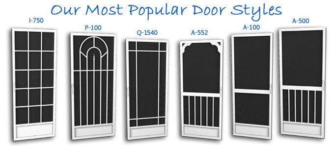 Best screen doors aluminum pca aluminum screen doors for Best screen doors home